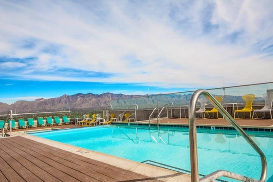 Ký túc xá nước nhà người ta: Xịn như khách sạn 5 sao, có đầy đủ sân thượng, bể bơi, giá thuê lên đến 17 triệu/tháng-7