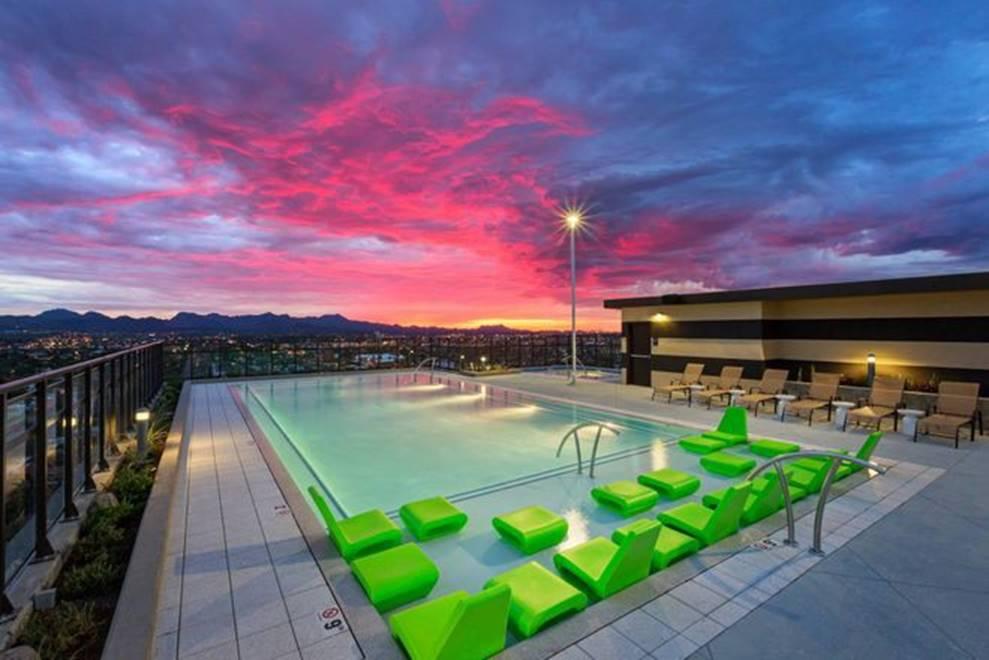 Ký túc xá nước nhà người ta: Xịn như khách sạn 5 sao, có đầy đủ sân thượng, bể bơi, giá thuê lên đến 17 triệu/tháng-8