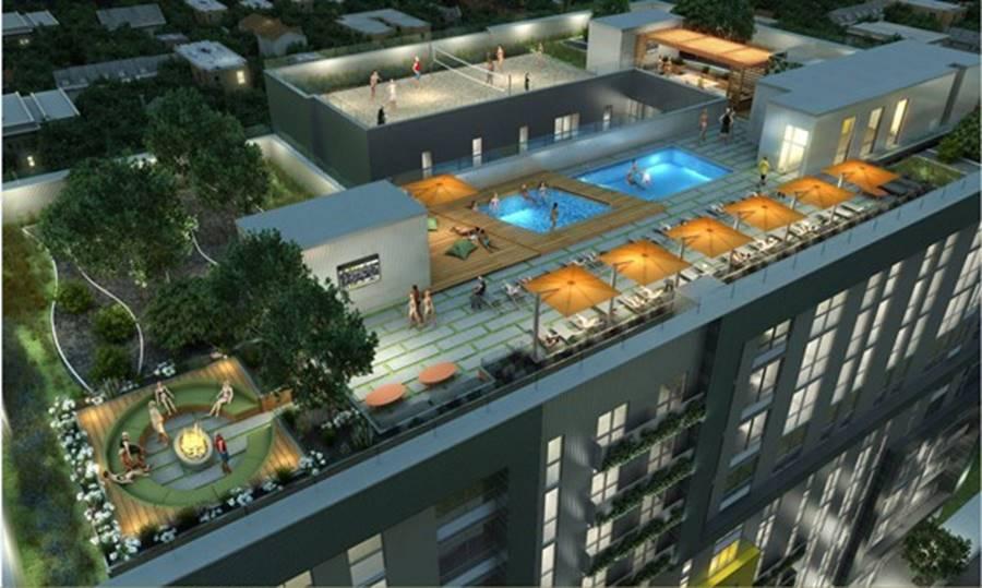 Ký túc xá nước nhà người ta: Xịn như khách sạn 5 sao, có đầy đủ sân thượng, bể bơi, giá thuê lên đến 17 triệu/tháng-10