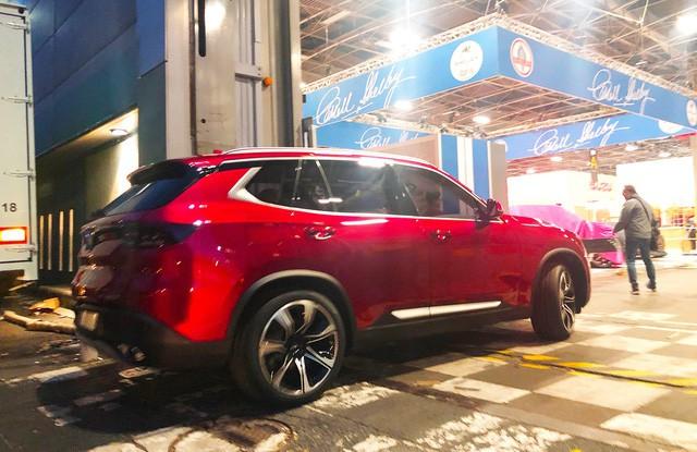 """Chùm ảnh và clip: Cận cảnh 2 xe VinFast bằng xương bằng thịt"""" được vận chuyển tới Paris Motor Show-9"""