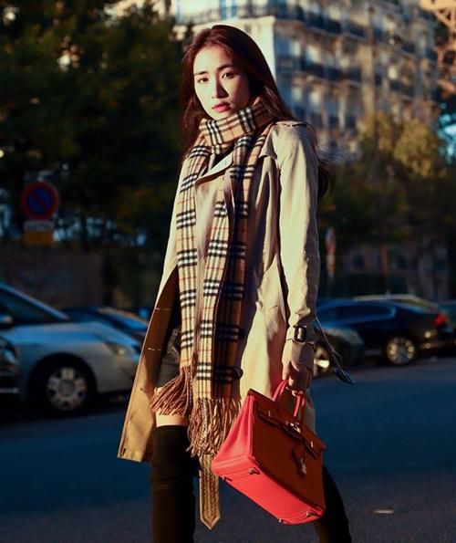 Bộ sưu tập túi hiệu của Hòa Minzy tăng vùn vụt trong một năm-1