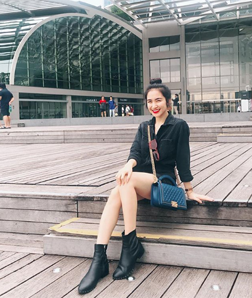Bộ sưu tập túi hiệu của Hòa Minzy tăng vùn vụt trong một năm-7