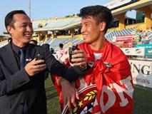Trung vệ Bùi Tiến Dũng háo hức chờ đợi Thể Công trở lại V-League