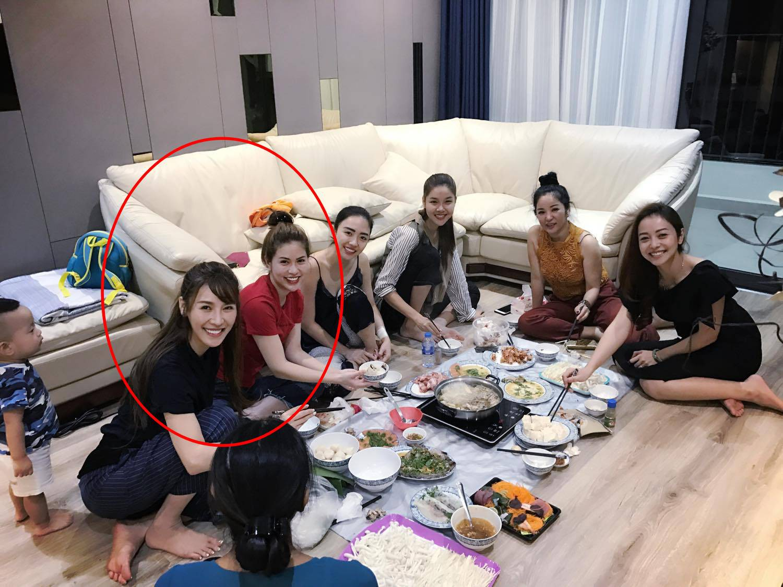 Quế Vân và vợ Việt Anh bất ngờ chơi cùng một hội bạn thân sau ồn ào đá xéo nhau trên mạng xã hội-1