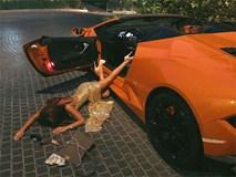 Sốc với trào lưu ngã sấp mặt từ ô tô của hội gái xinh