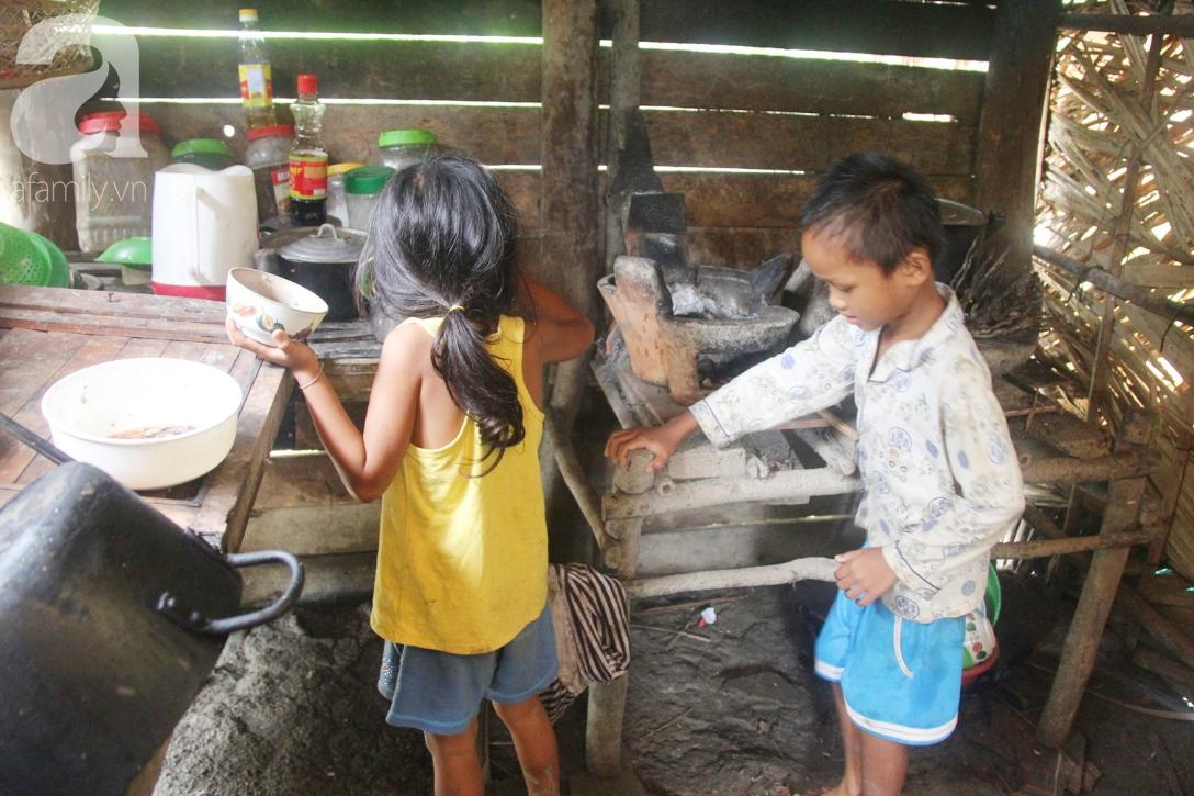 Hai lần đẻ rớt tại nhà, 4 đứa trẻ đói ăn bên người mẹ bầu 8 tháng không thể mượn được 500 ngàn để đi bệnh viện-15