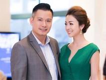 Jennifer Phạm rạng ngời sánh đôi ông xã điển trai phong độ