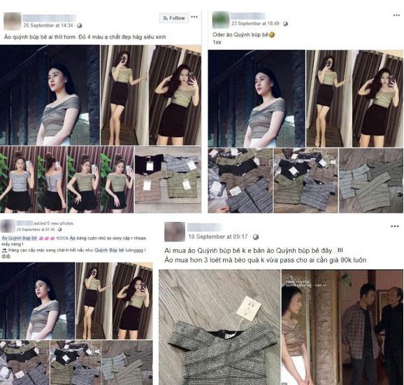 """Nhờ Quỳnh Búp Bê mà các shop online thi nhau đắt hàng mẫu áo hot hit"""" này-3"""
