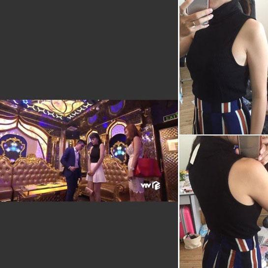 """Nhờ Quỳnh Búp Bê mà các shop online thi nhau đắt hàng mẫu áo hot hit"""" này-5"""