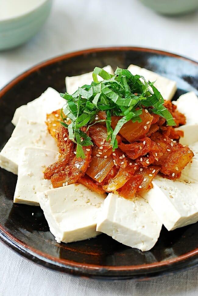 Nếu thích Hàn Quốc thì không thể không làm món đậu phụ ngon mê mẩn này-1