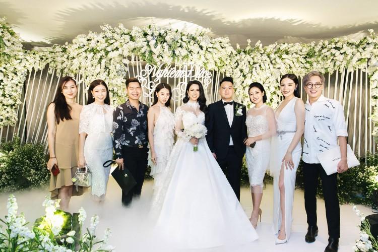 Chỉ là đi dự tiệc cưới thôi, nhiều sao Việt bị chỉ trích vì vô tâm lên đồ lấn lướt cả cô dâu - chú rể-6