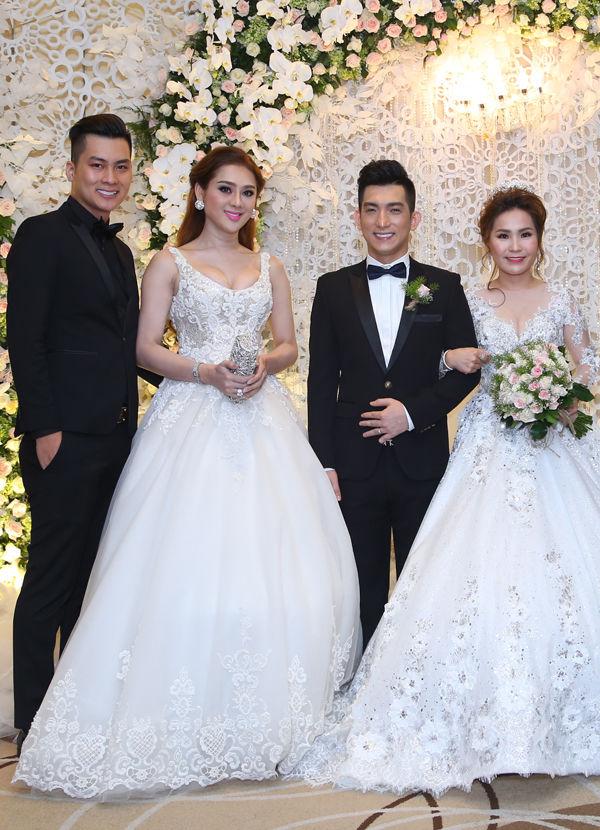 Chỉ là đi dự tiệc cưới thôi, nhiều sao Việt bị chỉ trích vì vô tâm lên đồ lấn lướt cả cô dâu - chú rể-8