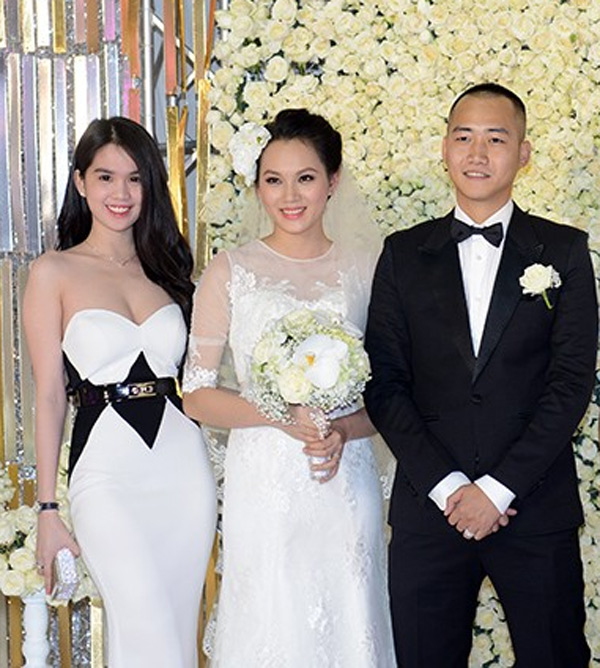 Chỉ là đi dự tiệc cưới thôi, nhiều sao Việt bị chỉ trích vì vô tâm lên đồ lấn lướt cả cô dâu - chú rể-10