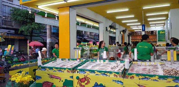 Bách hóa Xanh - siêu thị mở giữa lòng chợ-2