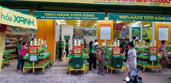 Bách hóa Xanh - siêu thị mở giữa lòng chợ-1