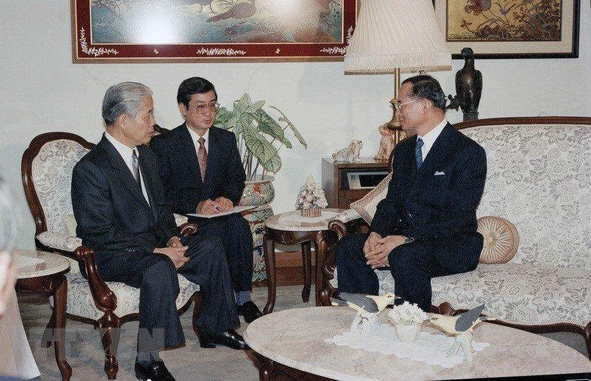 Hình ảnh nguyên Tổng bí thư Đỗ Mười cùng lãnh đạo các nước-3