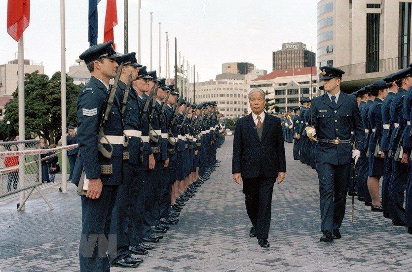 Hình ảnh nguyên Tổng bí thư Đỗ Mười cùng lãnh đạo các nước-10