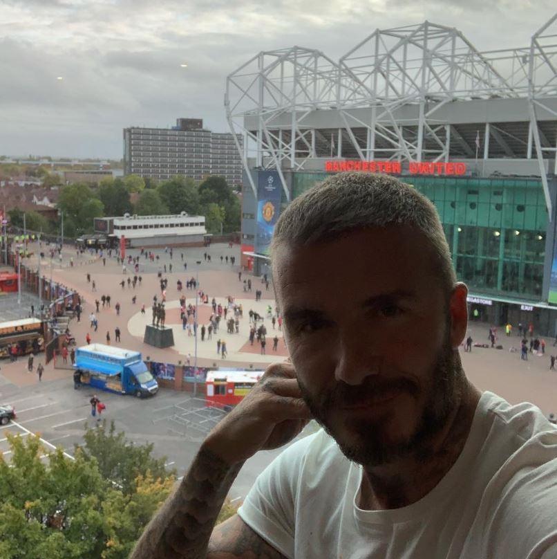Beckham trầm ngâm nhìn MU đánh rơi điểm trên sân nhà-1