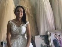 Cụ bà 70 tuổi đi thử váy cưới khiến dân mạng xôn xao và sự thật bất ngờ
