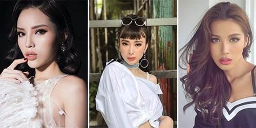Hết phát cuồng với kiểu môi tều quyến rũ, mỹ nhân Việt chuyển qua lối make-up tự nhiên chuẩn Hàn-1