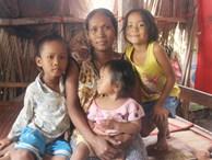 Bị chỉ trích vì nhà nghèo lại đẻ quá nhiều con, mẹ bầu 8 tháng cho biết sẽ triệt sản sau khi sinh em bé