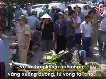 Băng qua đường sắt ở Hà Nội, nam thanh niên bị tàu hỏa đâm tử vong