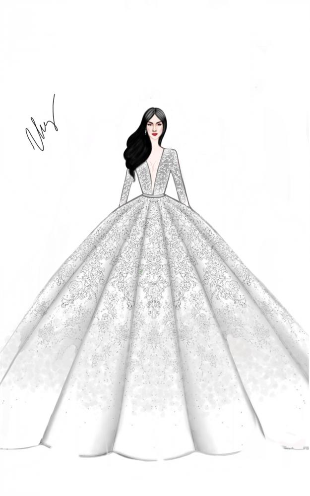 Không chỉ đầu tư váy cưới, Lan Khuê còn chi gần 100 triệu cho 3 đôi giầy cưới đẹp như cổ tích-3