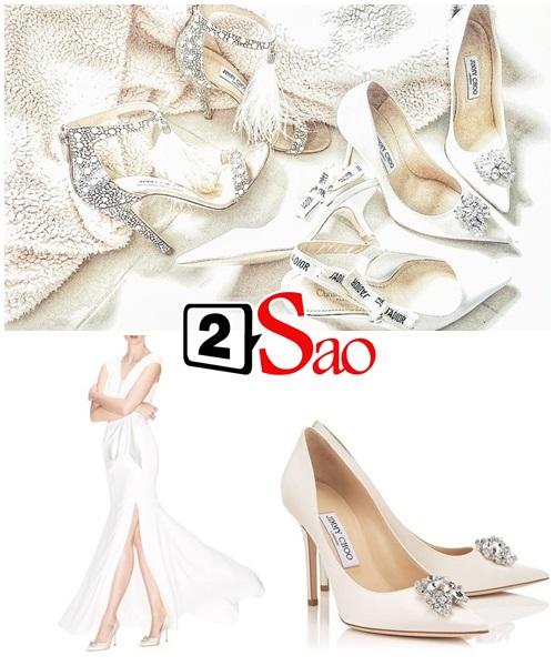 Không chỉ đầu tư váy cưới, Lan Khuê còn chi gần 100 triệu cho 3 đôi giầy cưới đẹp như cổ tích-8