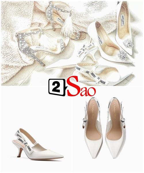 Không chỉ đầu tư váy cưới, Lan Khuê còn chi gần 100 triệu cho 3 đôi giầy cưới đẹp như cổ tích-9