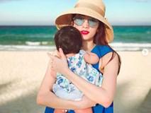 Đặng Thu Thảo khoe khoảnh khắc bình yên bên con gái 6 tháng tuổi