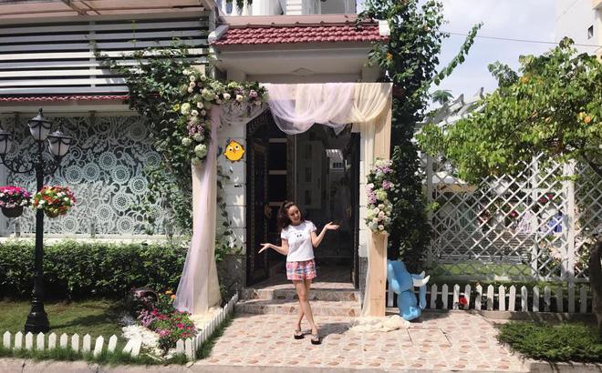 Cuộc sống của Vy Oanh và chồng đại gia trong căn biệt thự triệu đô-4