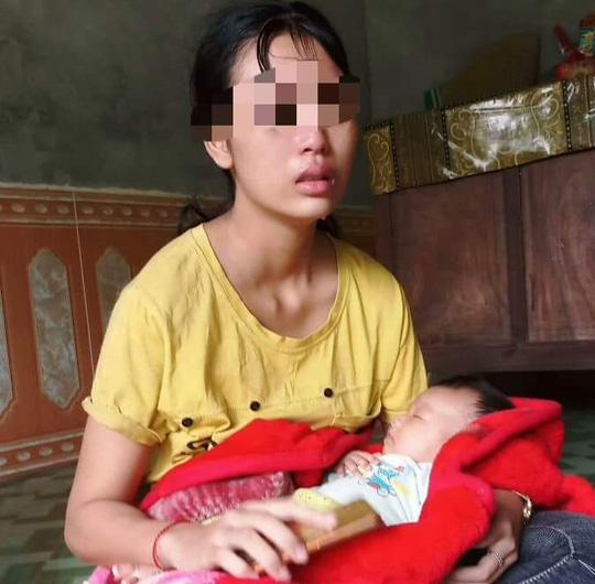 Vụ mẹ trẻ 16 tuổi cầu cứu vì chồng bạo hành: Người chồng nói mình bị oan?-2