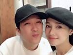 Sau tuần trăng mật tại Hàn Quốc, Nhã Phương tiếp tục lộ vòng 2 ngày càng lớn khi đi hát karaoke với ông xã Trường Giang-6