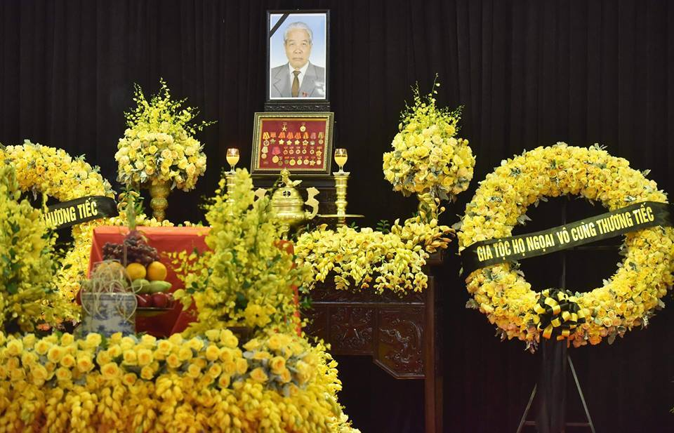 Lễ viếng nguyên Tổng bí thư Đỗ Mười-21