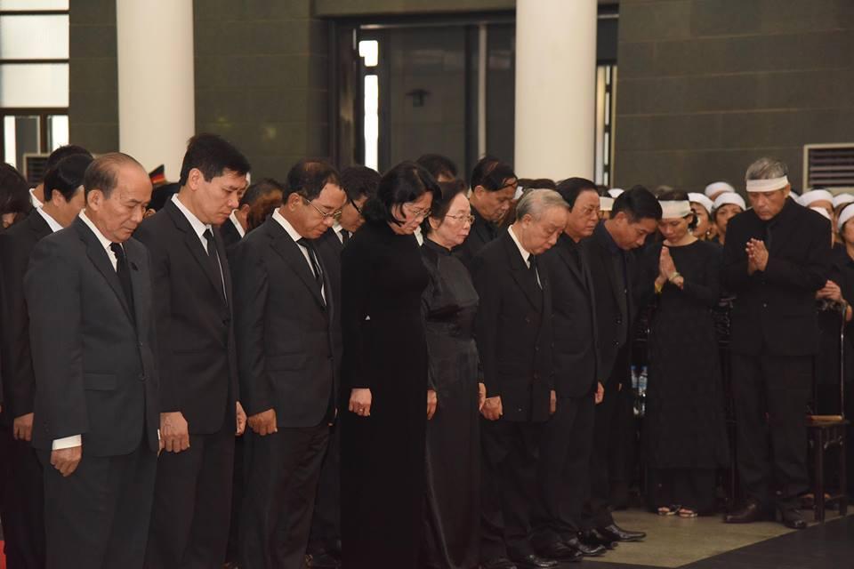 Lễ viếng nguyên Tổng bí thư Đỗ Mười-14