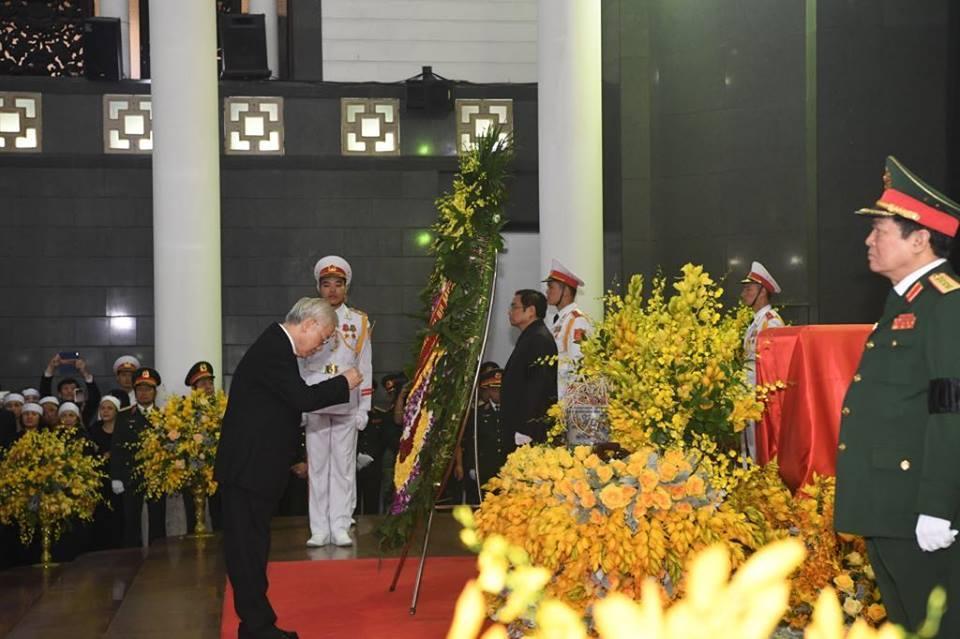 Lễ viếng nguyên Tổng bí thư Đỗ Mười-9