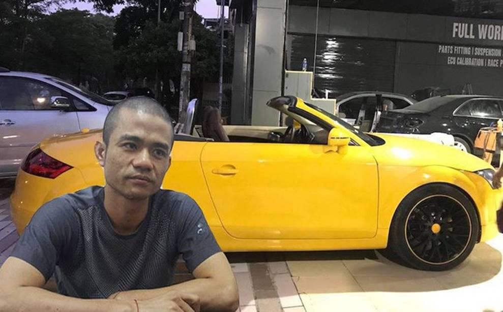 Đại ca thành Vinh khai chém vỡ kính xe Audi vì mâu thuẫn nhiều tỷ đồng với 1 phụ nữ-1