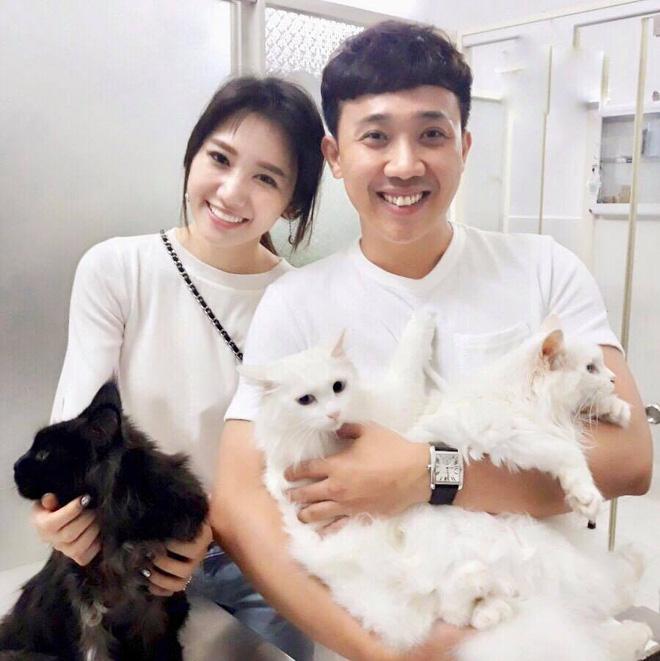 Vợ chồng Trấn Thành và chuyện gây cười về con mèo ngoại giá 3000 USD bị cạo trụi lông-1