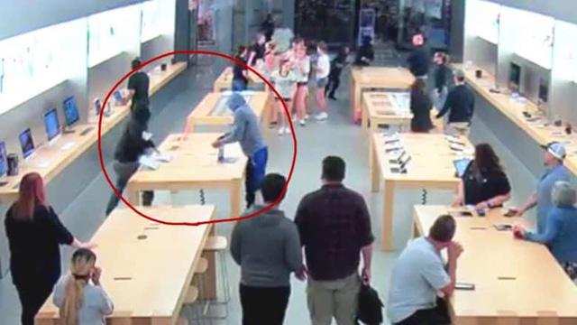 Apple thuê cảnh sát bảo vệ cửa hàng sau hàng loạt vụ trộm iPhone-1