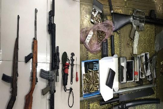 Choáng với kho vũ khí AK 47, AR 15 của 2 lái súng Quảng Ninh, Bắc Ninh-1