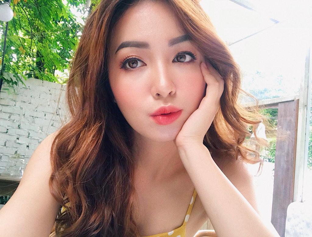 Nhan sắc hoa khôi ĐH Y dược Thái Nguyên 2018 thường bị nhầm là gái Tây-14