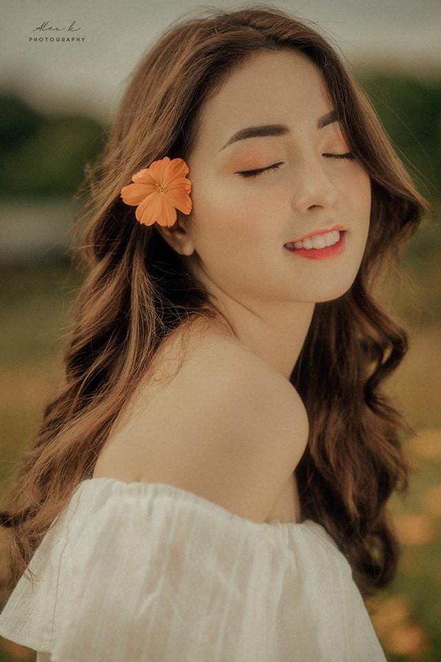 Nhan sắc hoa khôi ĐH Y dược Thái Nguyên 2018 thường bị nhầm là gái Tây-6