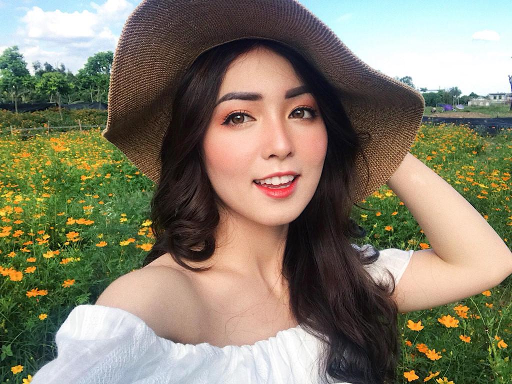 Nhan sắc hoa khôi ĐH Y dược Thái Nguyên 2018 thường bị nhầm là gái Tây-5