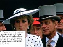 Hé lộ nhiều điểm bất ngờ trong những lá thư tay giữa Công nương Diana và bố chồng
