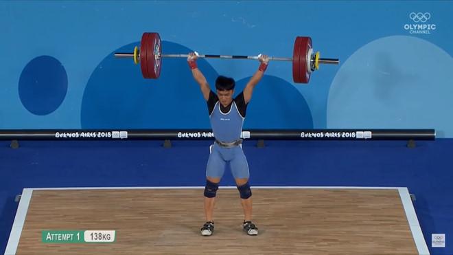Ngô Sơn Đỉnh xuất sắc giành HCV Olympic trẻ 2018-1