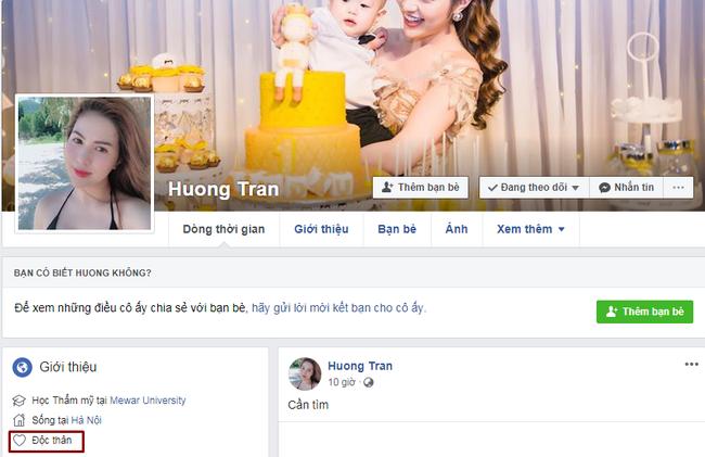Lê Việt Anh và bà xã cùng bật chế độ độc thân trên trang cá nhân-1