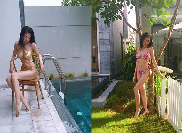 Không khoe thì thôi, cứ mỗi lần khoe dáng với bikini là một lần Hà Hồ khiến fan chao đảo-4