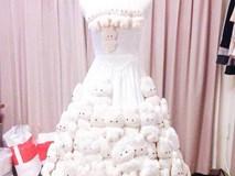 Choáng với chú rể của năm: Đặt riêng váy cưới cho vợ vẫn thấy