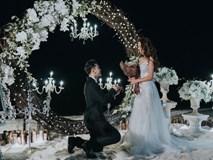 Lộ clip Ưng Hoàng Phúc cầu hôn Kim Cương đầy cảm động sau nhiều năm sống chung