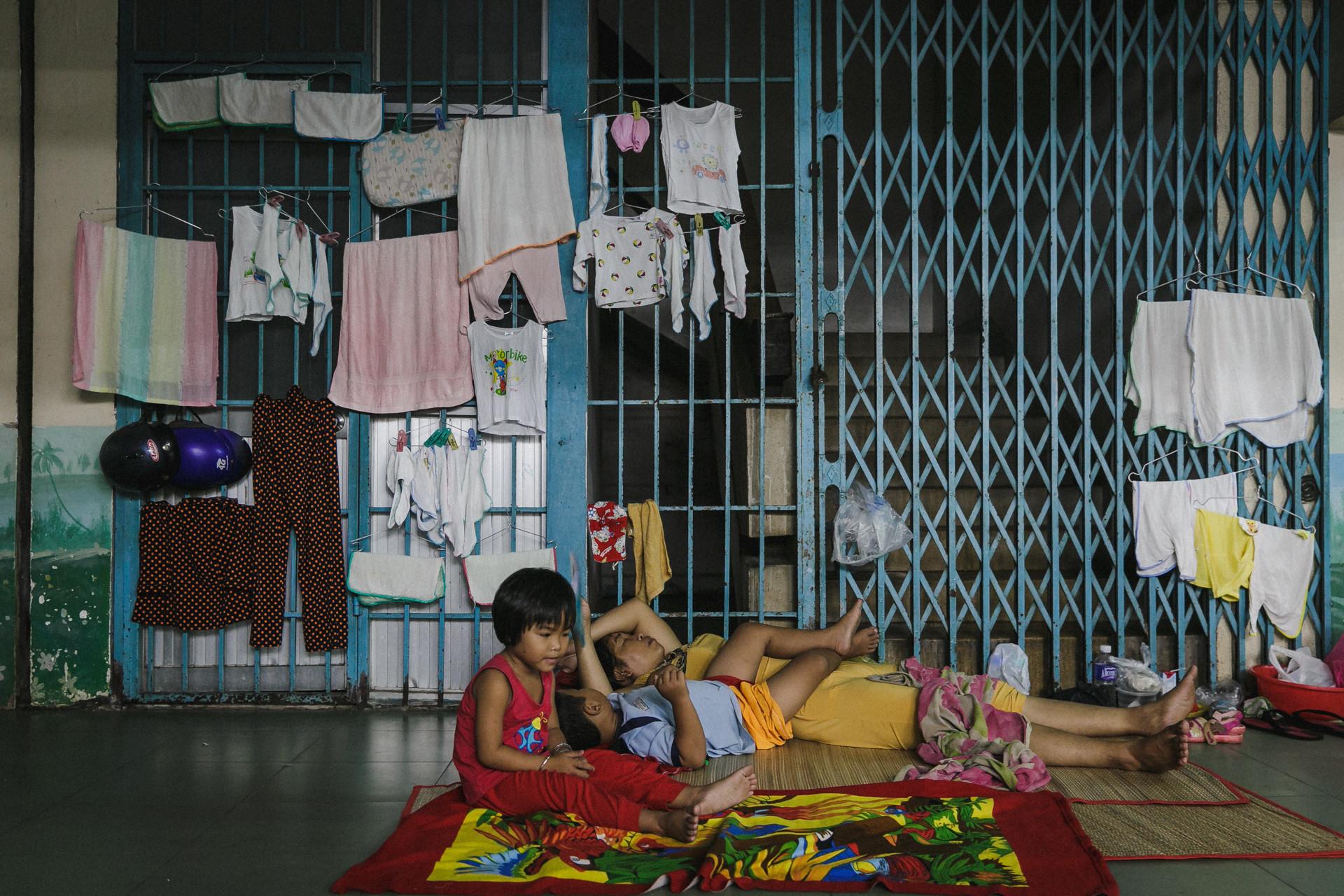 Bệnh viện Nhi ở Sài Gòn vỡ trận vì dịch chồng dịch-37